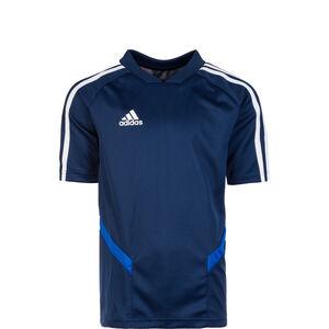 Tiro 19 Trainingsshirt Kinder, dunkelblau / weiß, zoom bei OUTFITTER Online