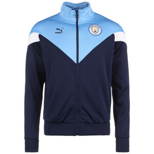 Manchester City Iconic MCS Track Jacke Herren, dunkelblau / hellblau, zoom bei OUTFITTER Online