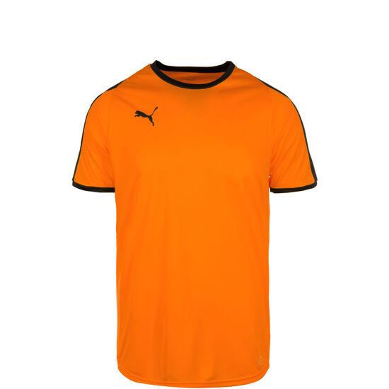 Liga Fußballtrikot Kinder, orange / schwarz, zoom bei OUTFITTER Online