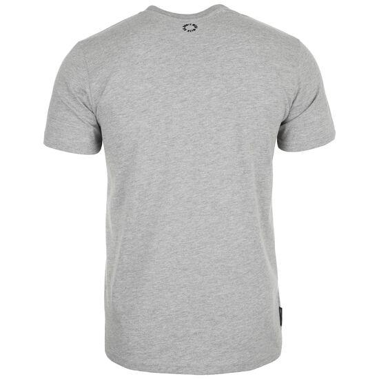 Classic Label '19 T-Shirt Herren, hellgrau / schwarz, zoom bei OUTFITTER Online