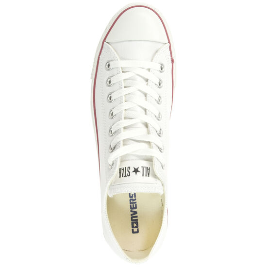 Chuck Taylor All Star Core OX Leather Sneaker, Weiß, zoom bei OUTFITTER Online