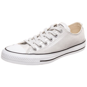 Chuck Taylor All Star OX Sneaker Damen, silber, zoom bei OUTFITTER Online