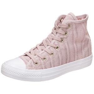Chuck Taylor All Star Herringbone Mesh High Sneaker Damen, Pink, zoom bei OUTFITTER Online