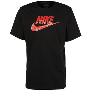 Sportswear Camo T-Shirt Herren, schwarz, zoom bei OUTFITTER Online
