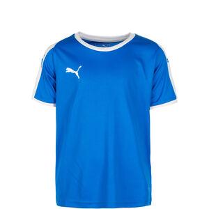 Liga Fußballtrikot Kinder, blau / weiß, zoom bei OUTFITTER Online