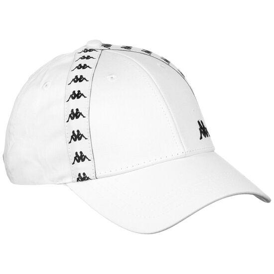 Authentic Deno Strapback Cap, weiß / schwarz, zoom bei OUTFITTER Online