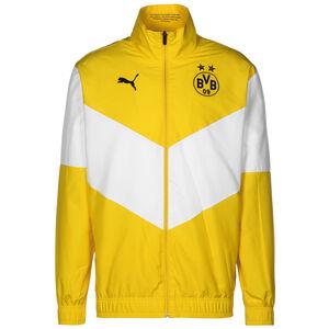Borussia Dortmund Pre-Match Trainingsjacke Herren, gelb / weiß, zoom bei OUTFITTER Online