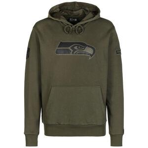 NFL Seattle Seahawks Camo Large Print Kapuzenpullover Herren, oliv, zoom bei OUTFITTER Online