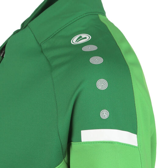 Champ 2.0 Ziptop Trainingssweat Kinder, grün / dunkelgrün, zoom bei OUTFITTER Online