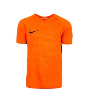 Dry Tiempo Premier Fußballtrikot Kinder, orange / schwarz, zoom bei OUTFITTER Online