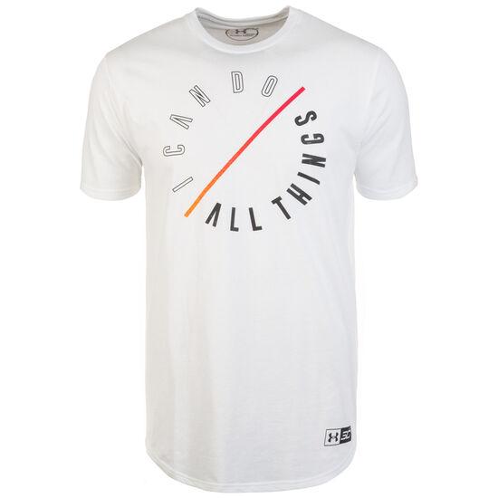 SC30 ICDAT T-Shirt Herren, weiß / orange, zoom bei OUTFITTER Online