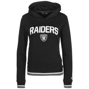 NFL Oakland Raiders Fleece Kapuzenpullover Damen, schwarz / weiß, zoom bei OUTFITTER Online