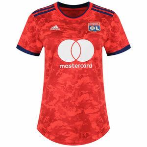 Olympique Lyon Trikot Away 2021/2022 Damen, rot / dunkelblau, zoom bei OUTFITTER Online