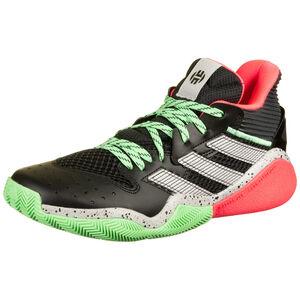 Harden Stepback Basketballschuh Herren, neonrot / neongrün, zoom bei OUTFITTER Online
