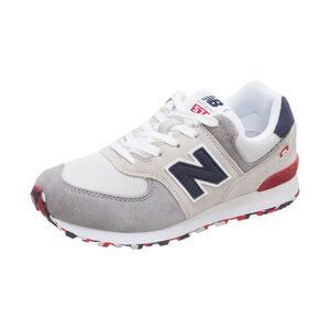 GC574-M Sneaker Kinder, hellgrau / schwarz, zoom bei OUTFITTER Online