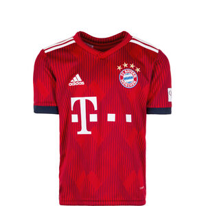FC Bayern München Trikot Home 2018/2019 Kinder, Rot, zoom bei OUTFITTER Online
