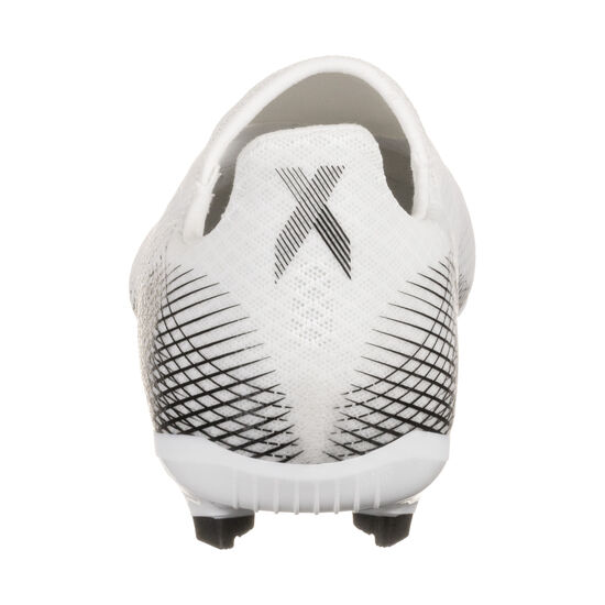X Ghosted.3 Laceless FG Fußballschuh Kinder, weiß / gold, zoom bei OUTFITTER Online