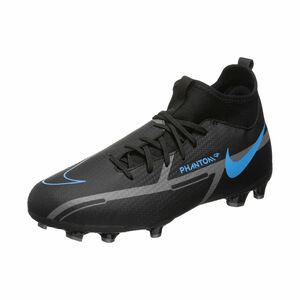Phantom GT2 Academy DF MG Fußballschuh Kinder, schwarz / blau, zoom bei OUTFITTER Online