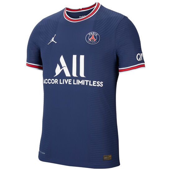 Paris St.-Germain Trikot Home Match 2021/2022 Herren, dunkelblau / rot, zoom bei OUTFITTER Online