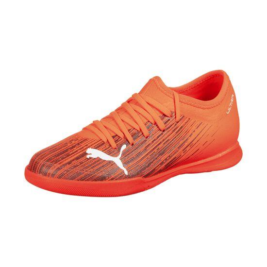 ULTRA 3.1 Indoor Fußballschuh Kinder, orange / schwarz, zoom bei OUTFITTER Online