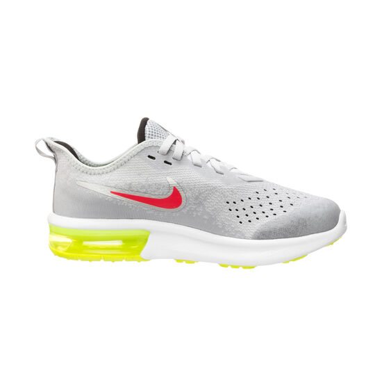 Air Max Sequent 4 Sneaker Kinder, hellgrau / rot, zoom bei OUTFITTER Online