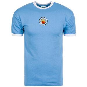 Manchester City Trikot Away Nr. 8 1970 Herren, Blau, zoom bei OUTFITTER Online