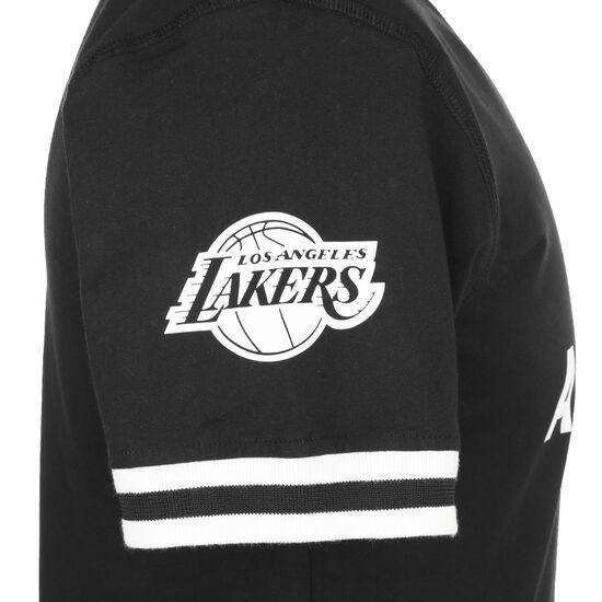 NBA Wordmark Los Angeles Lakers T-Shirt Herren, schwarz / weiß, zoom bei OUTFITTER Online