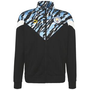 Manchester City Iconic MCS Graphic Trainingsjacke Herren, schwarz / hellblau, zoom bei OUTFITTER Online