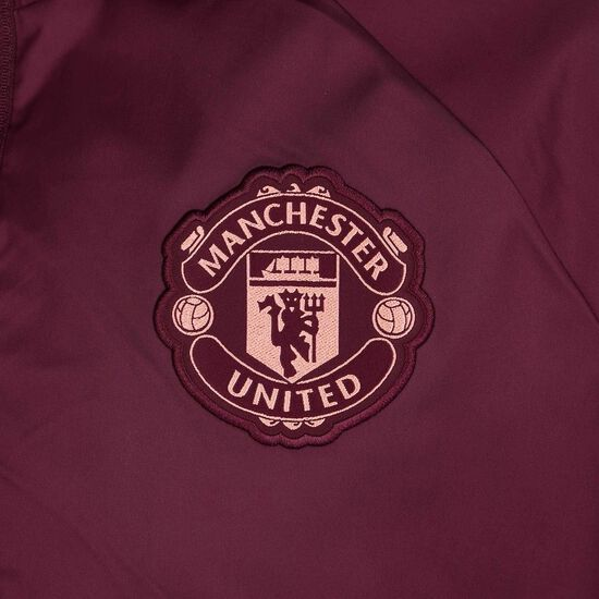 Manchester United Anthem Jacke Herren, bordeaux / rosa, zoom bei OUTFITTER Online