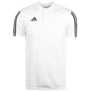 Tiro 19 Poloshirt Herren, weiß / schwarz, zoom bei OUTFITTER Online