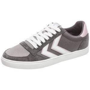 Slimmer Stadil Low Sneaker Damen, dunkelgrau / rosa, zoom bei OUTFITTER Online