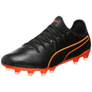 King Pro FG Fußballschuh Herren, schwarz / orange, zoom bei OUTFITTER Online