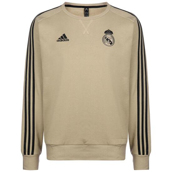 Real Madrid Top Sweatshirt Herren, hellbraun / schwarz, zoom bei OUTFITTER Online