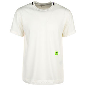 Dri-FIT Trainingsshirt Herren, weiß / neongrün, zoom bei OUTFITTER Online