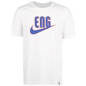 England Ground T-Shirt EM 2021 Herren, weiß / blau, zoom bei OUTFITTER Online