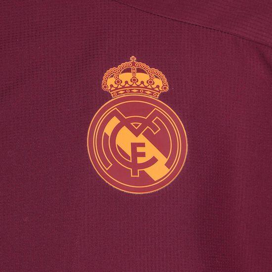 Real Madrid Präsentationsjacke Herren, bordeaux / weiß, zoom bei OUTFITTER Online