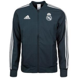 Real Madrid Präsentationsjacke Herren, Schwarz, zoom bei OUTFITTER Online