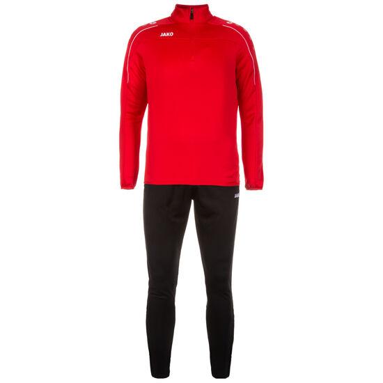 Classico Trainingsanzug Herren, rot / schwarz, zoom bei OUTFITTER Online