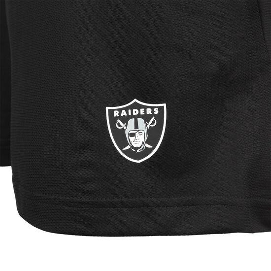 NFL Las Vegas Raiders Coach Shorts Herren, schwarz / weiß, zoom bei OUTFITTER Online