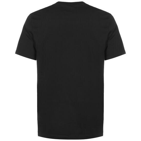 Paris St.-Germain Wordmark T-Shirt Herren, schwarz / lila, zoom bei OUTFITTER Online
