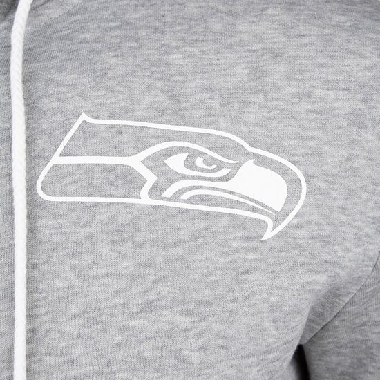 NFL Large Graphic Seattle Seahawks Kapuzensweatjacke Herren, grau, zoom bei OUTFITTER Online