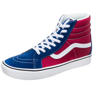 Sk8-Hi ComfyCush Reissue Sneaker, blau / rot, zoom bei OUTFITTER Online