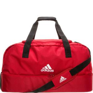 Tiro Bottom Compartment Medium Fußballtasche, rot / weiß, zoom bei OUTFITTER Online