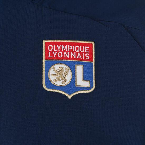 Olympique Lyon Präsentationsjacke Herren, blau / rot, zoom bei OUTFITTER Online