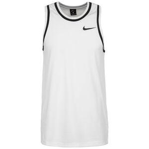 Dri-FIT Basketballtank Herren, weiß / schwarz, zoom bei OUTFITTER Online
