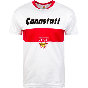 VfB Stuttgart Trikot Home 1978 Herren, Weiß, zoom bei OUTFITTER Online