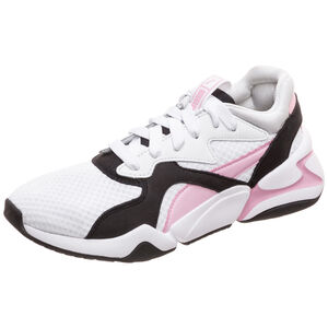 Nova '90s Bloc Sneaker Damen, weiß / rosa, zoom bei OUTFITTER Online