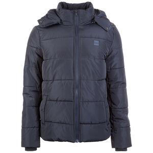 Hooded Puffer Winterjacke, dunkelblau, zoom bei OUTFITTER Online