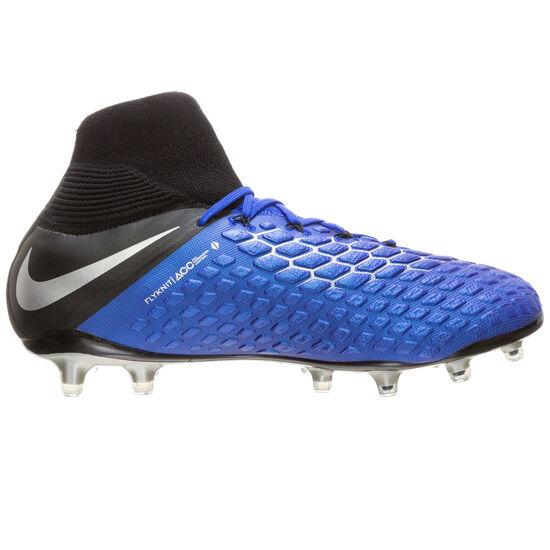 Hypervenom Phantom III Elite DF FG Fußballschuh Herren, blau / silber, zoom bei OUTFITTER Online