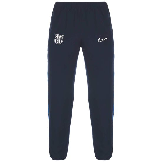 FC Barcelona Academy Trainingshose Herren, dunkelblau / weiß, zoom bei OUTFITTER Online